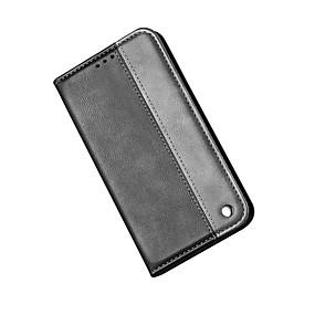 voordelige Galaxy S7 Edge Hoesjes / covers-hoesje Voor Samsung Galaxy S9 / S9 Plus / S8 Plus Kaarthouder / Schokbestendig / Stofbestendig Volledig hoesje Effen Hard TPU