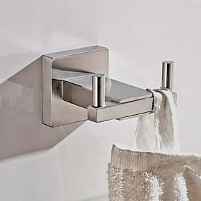 povoljno Gadgeti za kupaonicu-Kuka za ogrtač New Design / Kreativan Suvremena / Starinski Stainless Steel + A Grade ABS / Nehrđajući čelik / Metal 1pc - Kupaonica Zidne slavine