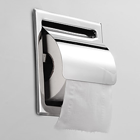 cheap Bathroom Gadgets-Toilet Paper Holder Creative Fun & Whimsical Stainless steel 1pc - Bathroom / Hotel bath Wall Mounted