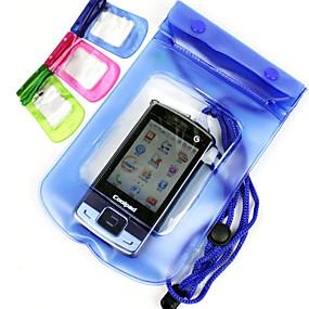olcso iPhone tokok-Case Kompatibilitás Univerzális Univerzalno Vízálló Vízálló erszény Egyszínű Puha PVC mert Univerzalno
