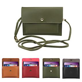 levne iPhone pouzdra-6,3 palcové pouzdro pro univerzální držák na kartuše sáček s taškou pevné barevné měkké pu pevné barevné kapsy na mobilní telefon