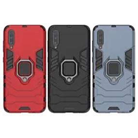 voordelige Galaxy S7 Edge Hoesjes / covers-hoesje Voor Samsung Galaxy S9 / S9 Plus / S8 Plus Schokbestendig / Ringhouder Achterkant Effen PC