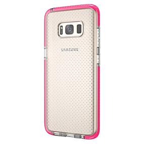 voordelige Galaxy S7 Edge Hoesjes / covers-d& s case voor samsung galaxy s8 plus / s9 plus stofdichte achterkant effen gekleurde zachte tpu voor s7 / s7 edge / s8