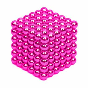 olcso Játékok & hobbi-64-1000 pcs 4mm Mágneses játékok mágneses Balls Építőkockák Super Strong ritkaföldfémmágnes Neodímium mágnes Puzzle Cube Neodímium mágnes Stressz és szorongás oldására Enyhíti ADD, ADHD, a szorongás