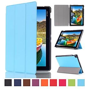 levne iPhone pouzdra-Carcasă Pro Asus ZenPad 10 Z301MFL / ZenPad 10 Z301MF Nárazuvzdorné / Prachuodolné / Flip Celý kryt Jednobarevné / Komiks Pevné PU kůže pro iPhone SE / 5s / iPhone 5 / ASUS ZenPad 10 Z301ML