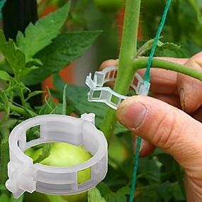 ieftine Ustensile de Grădină-50pcs plante viță de vie fixat clip legat cataramă fixare cârlig agricole sere legume gadget grădină plastic planter trelli