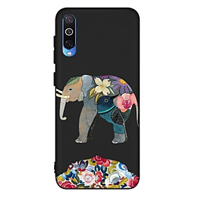 voordelige Galaxy A5(2016) Hoesjes / covers-hoesje voor Samsung Galaxy A6 (2018) / A6 Plus / A7 (2018) Schokbestendig / Mat / Patroon Achterkant Animal TPU Soft voor Galaxy A10 / A20 / A30 / A20E / A40 / A50 / A70 / A80 / A8 2018 / A9 2018 / a5