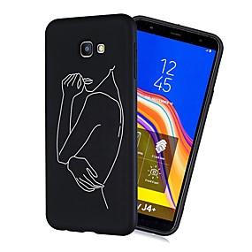 voordelige Galaxy J3 Hoesjes / covers-hoesje Voor Samsung Galaxy J7 (2017) / J6 (2018) / J5 (2017) Schokbestendig / Mat / Patroon Achterkant Tegel Zacht TPU