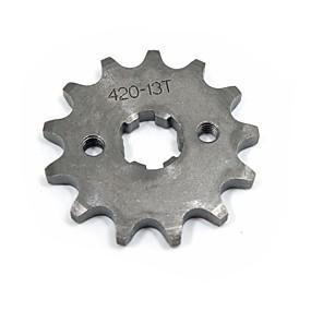 ieftine Părți Motociclete & ATV-420-17mm-13t groapă dinți motocicleta murdărie biciclete VTA pinion set # 420 de lanț