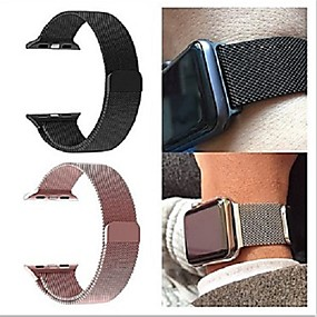 billige Søk etter telefonmodell-milanese loop band for apple watch strap iwatch 4/3/2/1 38mm 40mm 42mm 44mm