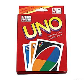 olcso Játékos játékok-Társasjátékok Kártyajáték UNO Műanyag Darabok Uniszex Gyermek Ajándék