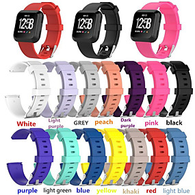 cheap Daily Deals-Watch Band for Fitbit Versa Fitbit Classic Buckle Silicone Wrist Strap
