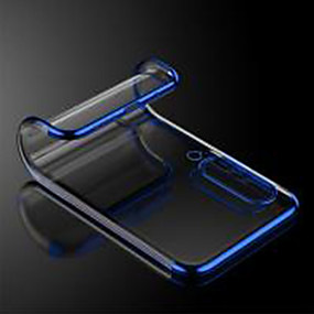 voordelige Galaxy S7 Edge Hoesjes / covers-hoesje Voor Samsung Galaxy S9 / S9 Plus / S8 Plus Schokbestendig / Ultradun / Transparant Achterkant Effen / Transparant TPU