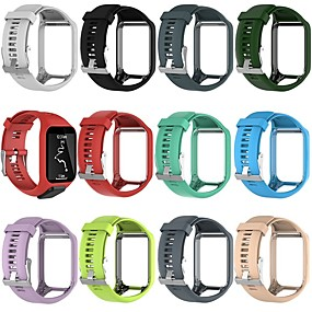 cheap Daily Deals-Watch Band for TomTom Spark 3 / TomTom Runner 2 TomTom Classic Buckle Silicone Wrist Strap
