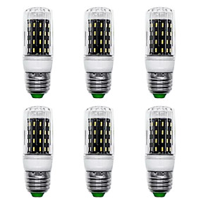 ieftine Becuri LED Corn-6pcs 7 W Becuri LED Corn 700 lm E14 G9 GU10 T 56 LED-uri de margele SMD 4014 Model nou Alb Cald Alb 220-240 V 110-120 V