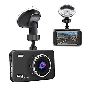 voordelige Auto DVR's-Junsun q5 dashcam 3 lcd full hd 1080p 140 groothoek dashboard camera auto dvr voertuig dash cam met videosensorloop opname nachtzicht g-sensor