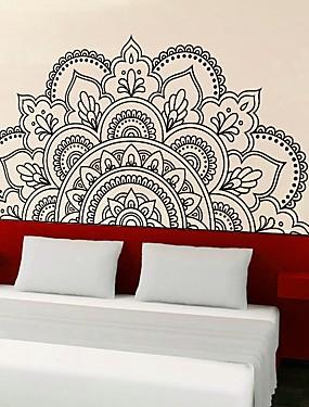 billige Hjem & Køkken-Dekorative Mur Klistermærker - 3D mur klistermærker Former / Blomster Stue / Soveværelse