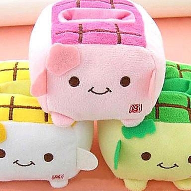 Kawaii Hannari Tofu Cell Plush Phone Holder Christmas Gift (CEG1058)(Random Color)