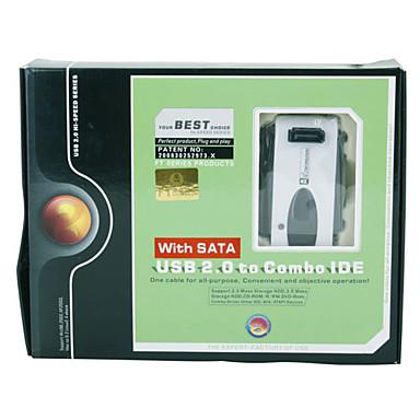 USB 2.0 pour combo ide + adaptateur sata disque dur