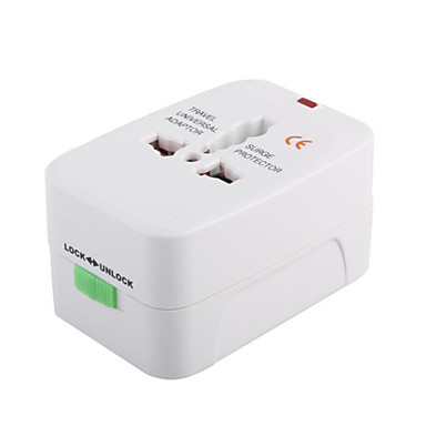 Universal Travel Power Adapter with Surge Protection