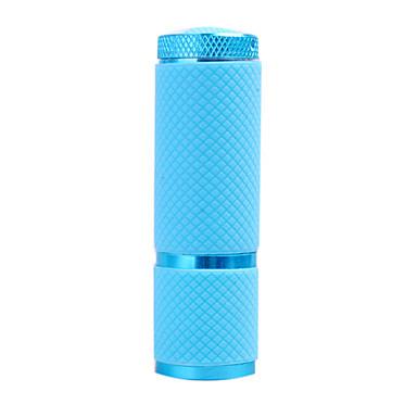 1-el modo de 9 llevó la linterna (3x10440/3xaaa, azul)