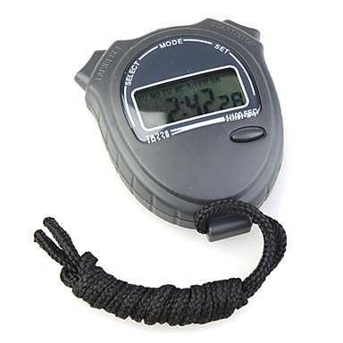 ta228 chronograph digitaalinen urheilu sekuntikello (musta)