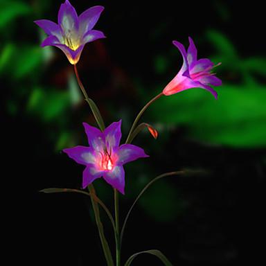 solare cu LED-uri de flori de lumină (1049-cis-28080)