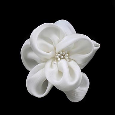 Kadın Saten İmitasyon İnci Başlık-Düğün Özel Anlar Günlük Çiçekler