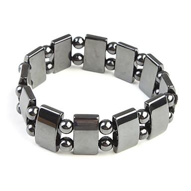 magnetska narukvica s pravokutnih i okruglih perli, za dječake