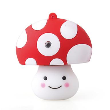 2GB Cartoon Mushroom USB Stick (White)