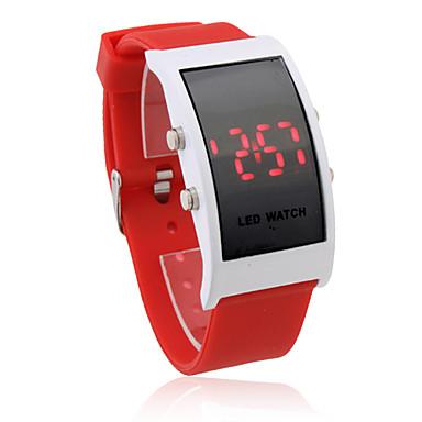 여성용 캐쥬얼 시계 / 스포츠 시계 / 손목 시계 방수 / LED / 디지털 실리콘 밴드