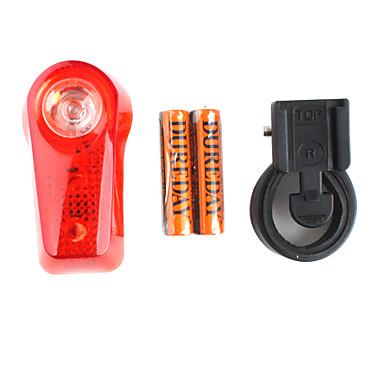 1 & 2 led bike luce stroboscopica di sicurezza con il supporto - xc-744 (2 x AAA)
