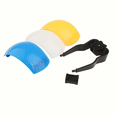 universal 3 Farben Pop-up-Blitz-Diffusor Abdeckung für die Kamera
