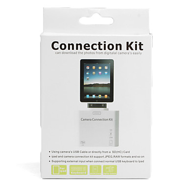 Camera Connection Kit with SD Card Reader for iPad