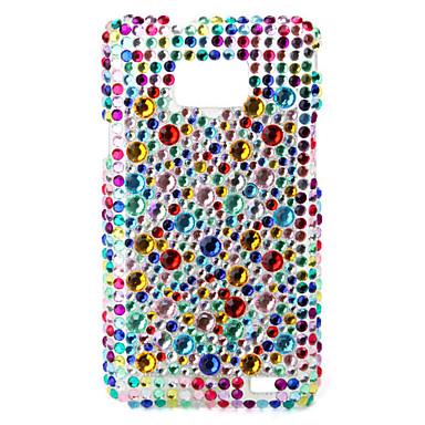 Etui de Protection Rigide Coloré avec Strass pour Samsung i9100