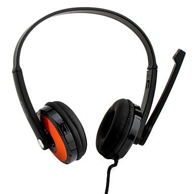 koniycai kt-2200mv Mikrofon Kopfhörer (orange)