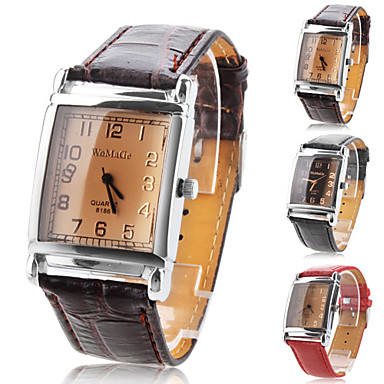 Women's Watch Fashion Square Dial Casual Watch Cool Watches Unique Watches