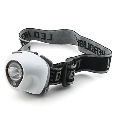 Iluminación Linternas LED / Linternas de Cabeza LED 100 Lumens 3 Modo - 10440 / AAA Super Ligero / Tamaño Compacto / Tamaño Pequeño