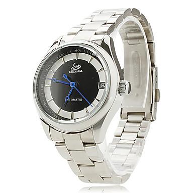Women's Alloy Analog Mechanical Wrist Watch (Silver)