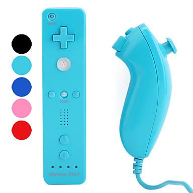 motionplus Remote und Nunchuk Controller für Wii / Wii u (Retail-Box, farblich sortiert)