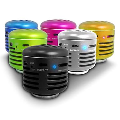 tudo-em-um alto-falante vibração ressonância com controle remoto (usb, microsd leitor, rádio FM, cores sortidas)
