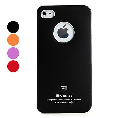 Custodia in alluminio per iPhone 4 e 4S - Colori assortiti
