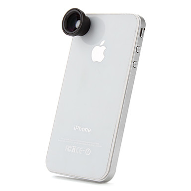 staccabile 0.67x ampio macro obiettivo grandangolare per iphone, ipad e altro cellulare