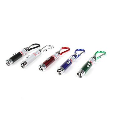 Schlüsselanhänger Taschenlampen Plastik für LR44