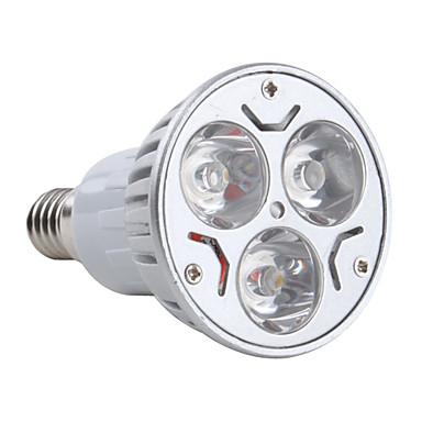 3 W- Par - E14 - Spotlamper (Warm White 270 lm- AC 85-265