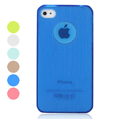 Genuine iPega Translucent Case and Solid Color Bumper for iPhone 4/4S (Assorted Colors)