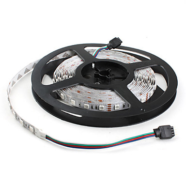RGB Strip Lights Flexible LED Light Strips 300 LEDs RGB Color-Changing DC 12V
