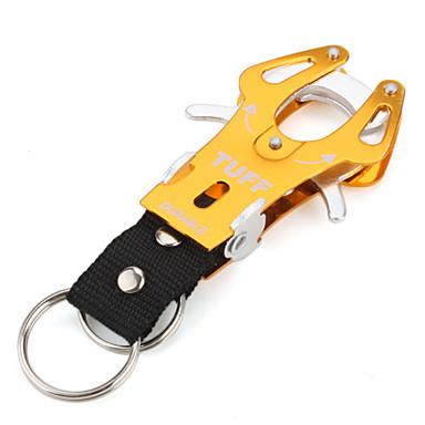 Small Size Aluminium Ring Carabiner Clip