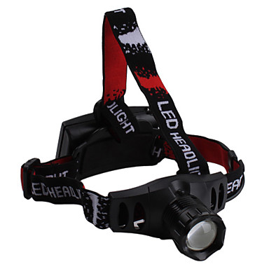 3-Mode 160 Lumens Waterproof Zoom Headlamp with Cree Q7 LED