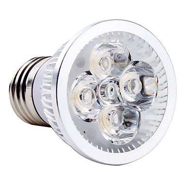 4W E26/E27 LED Spotlight MR16 4 leds High Power LED Natural White 6000lm 6000KK AC 85-265V
